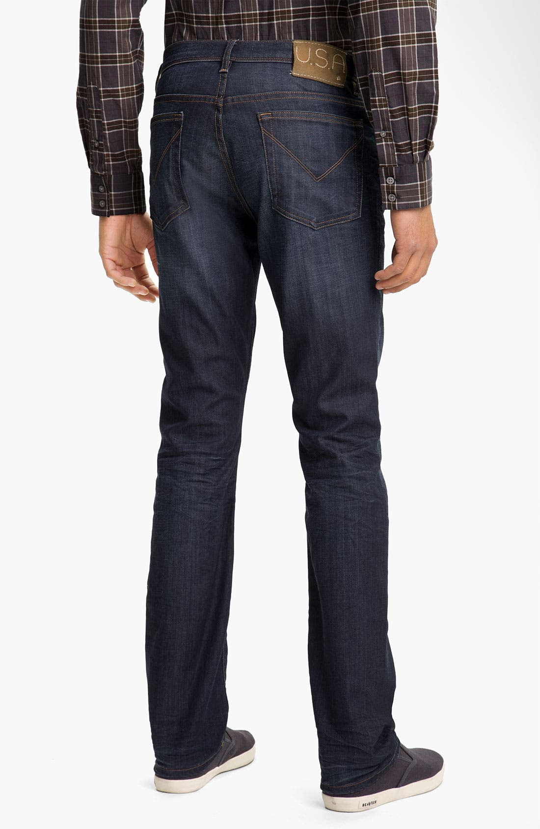 Alternate Image 2  - John Varvatos 'Authentic' Straight Leg Jeans (River Blue)