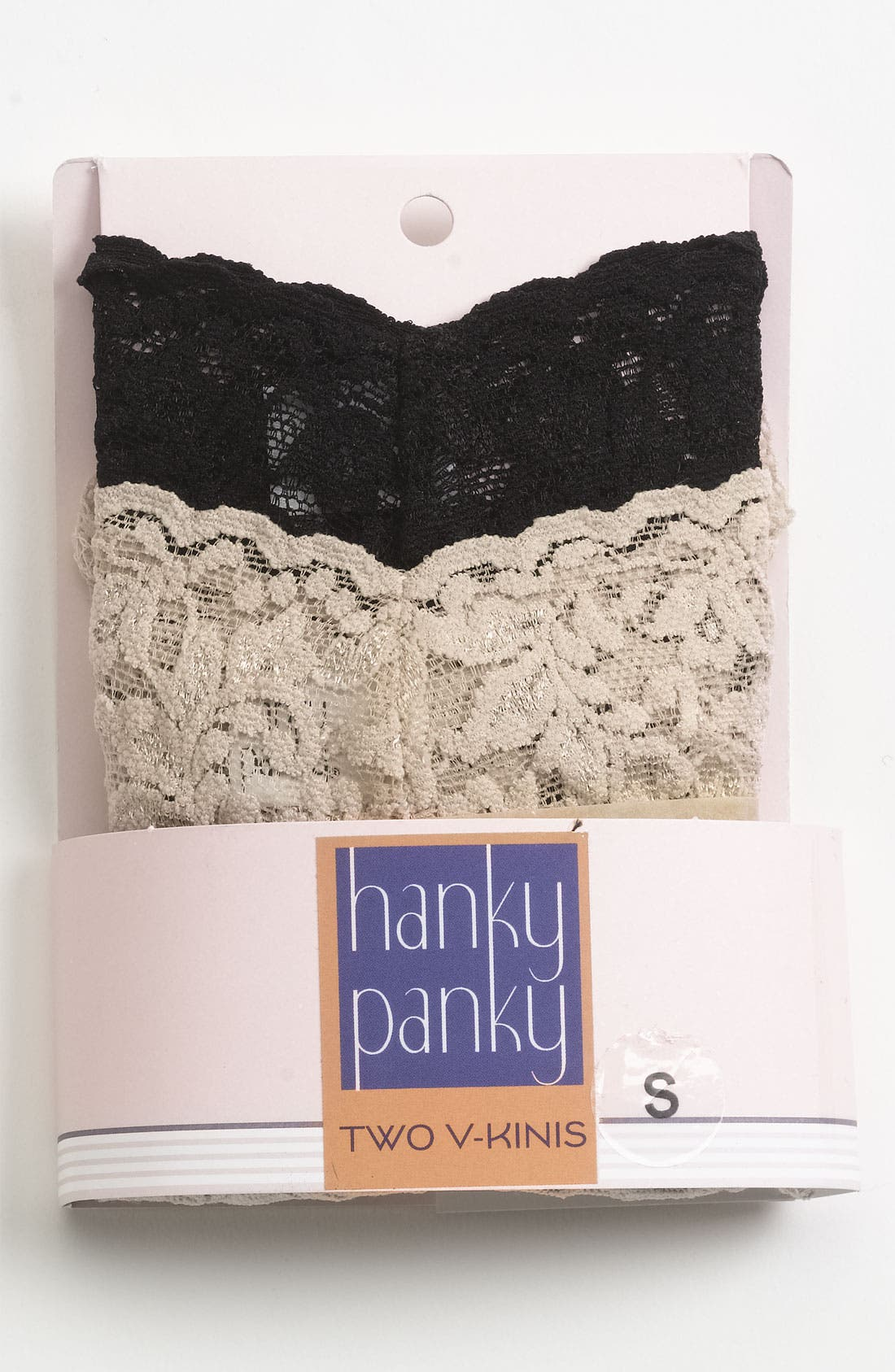 Alternate Image 1 Selected - Hanky Panky Signature Lace Vikini (2-Pack)