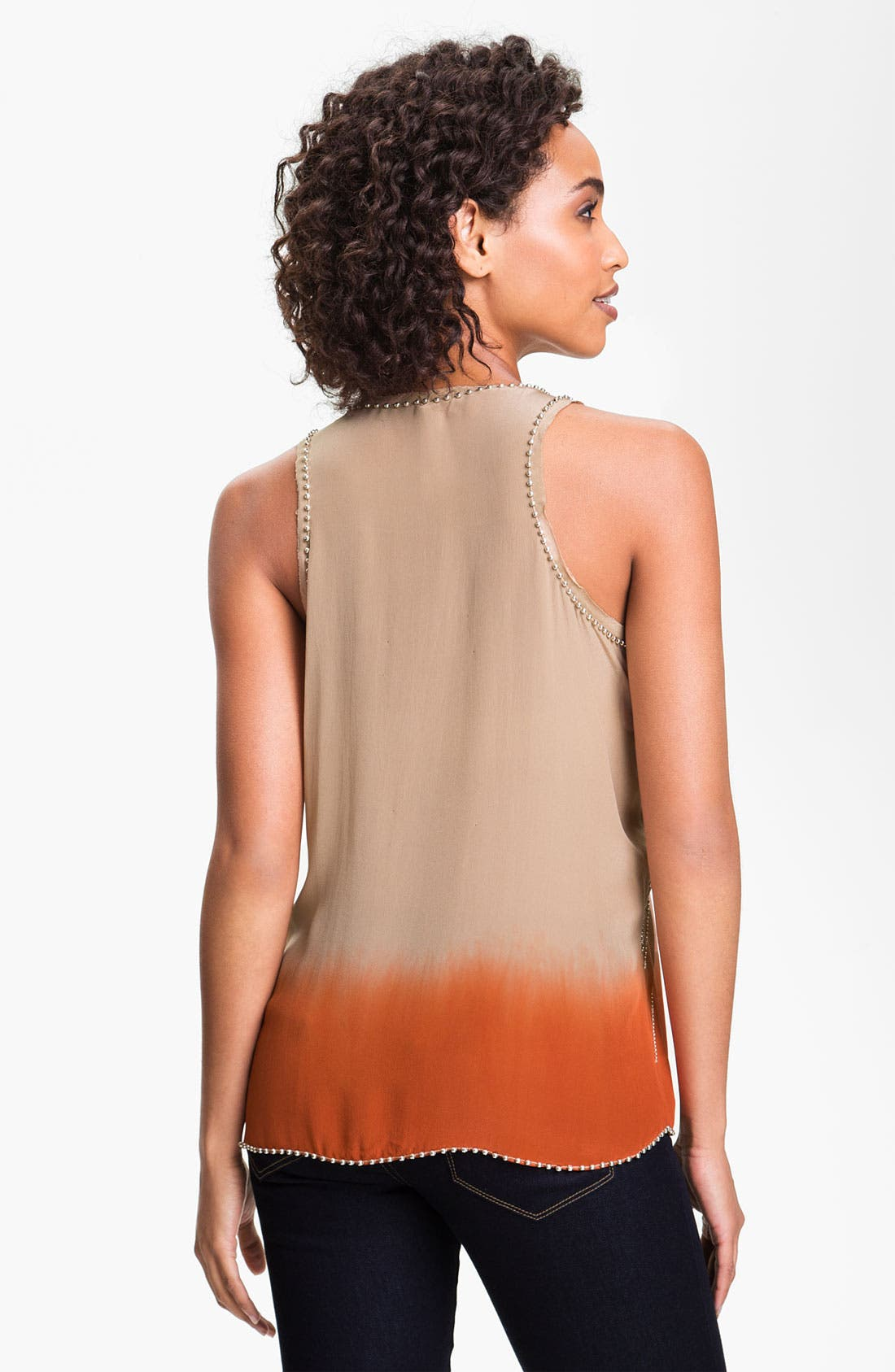 Alternate Image 2  - Willow & Clay Embellished Dip Dye Tank