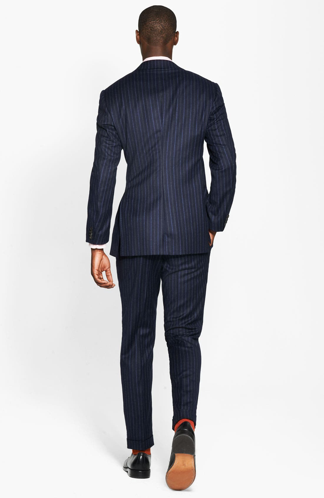 Alternate Image 2  - Canali Chalk Stripe Suit