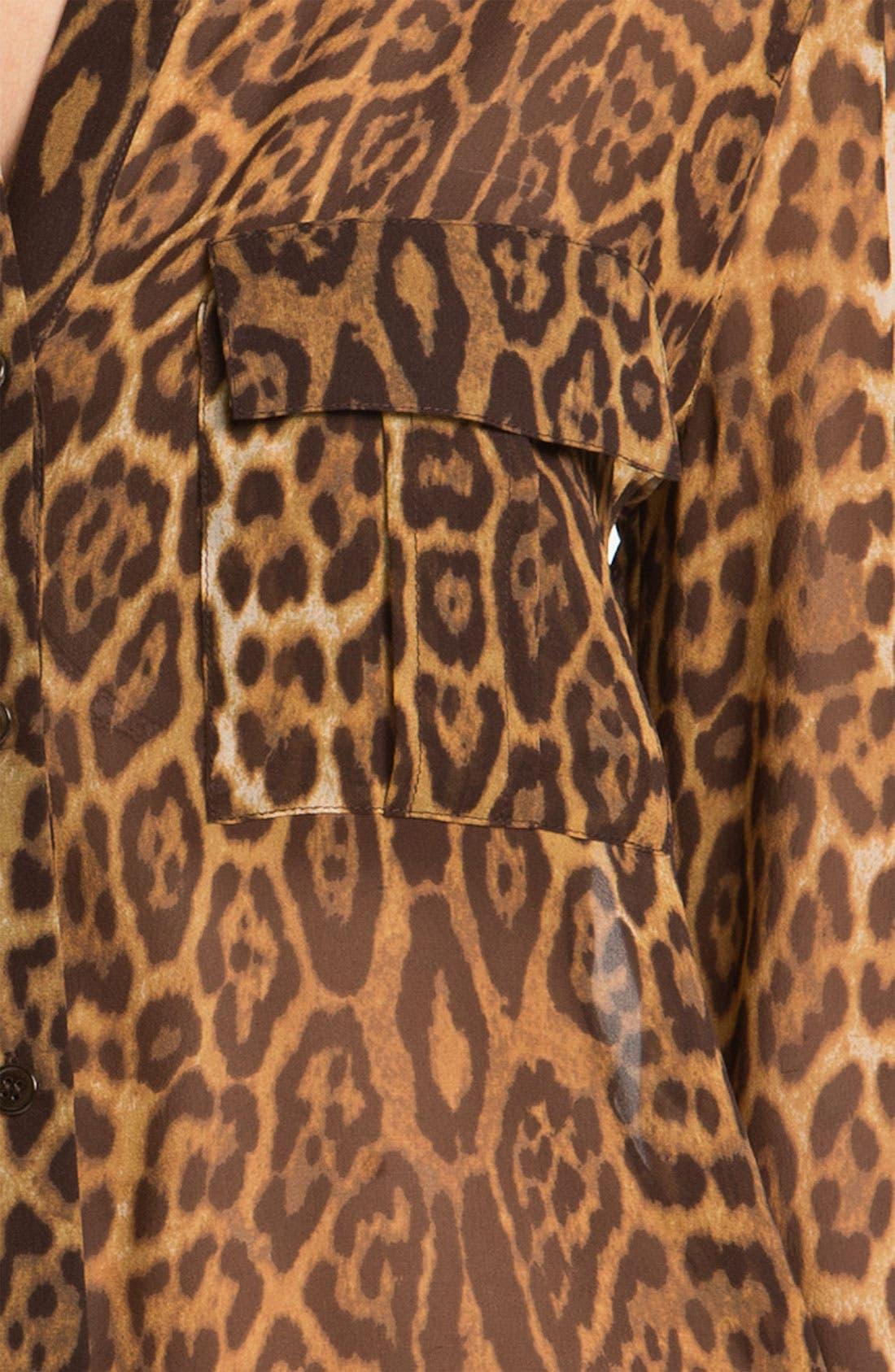 Alternate Image 3  - BCBGMAXAZRIA 'Anderson' Silk Blouse
