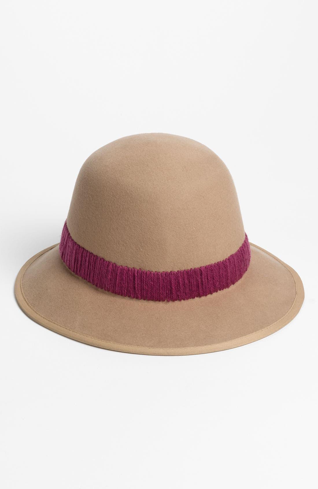 Main Image - San Diego Hat Yarn Band Fedora