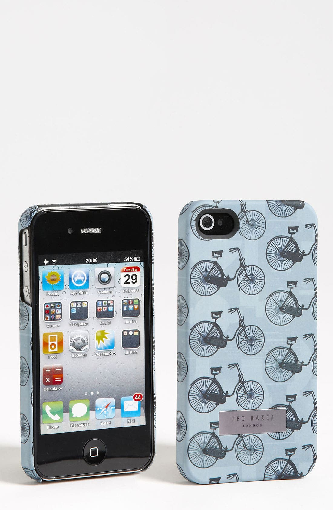 Alternate Image 1 Selected - Ted Baker London 'Bicycle' Print iPhone 4 & 4S Case