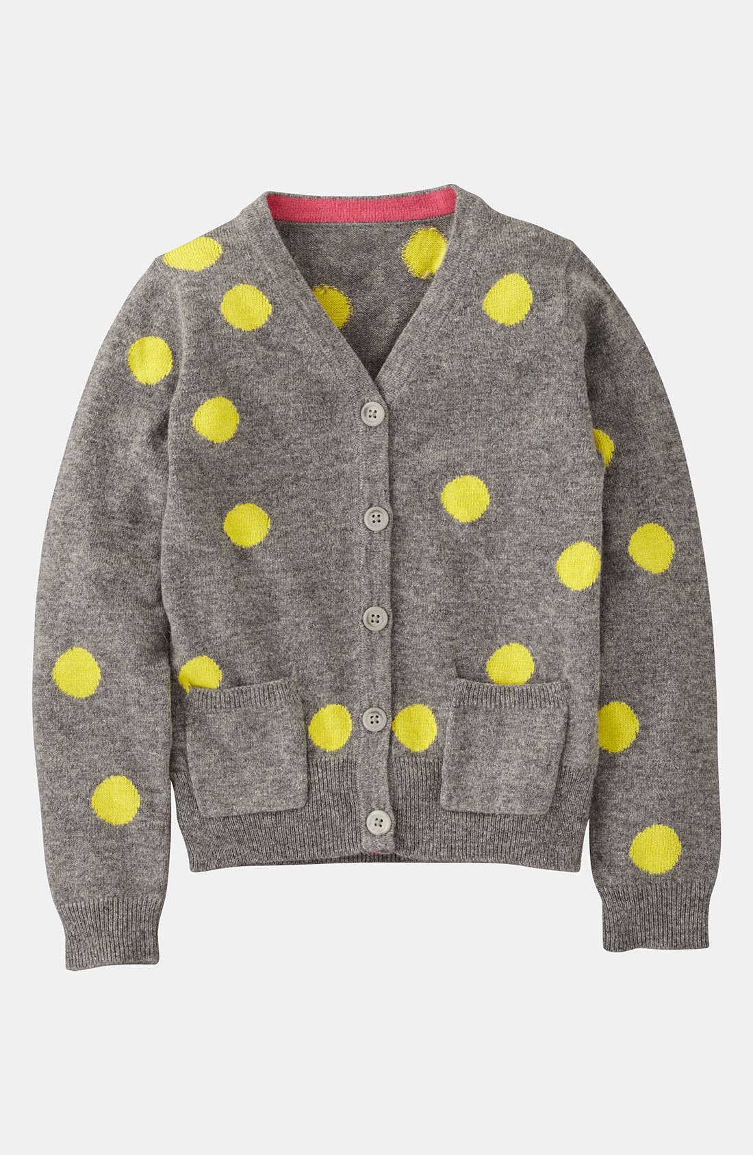 Alternate Image 1 Selected - Mini Boden 'Hotchpotch' Cardigan (Toddler)