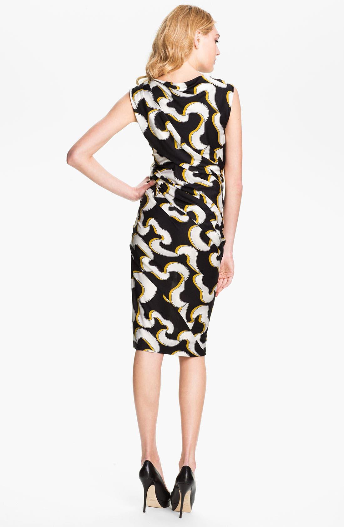 Alternate Image 2  - Diane von Furstenberg 'Luisa' Silk Jersey Sheath Dress
