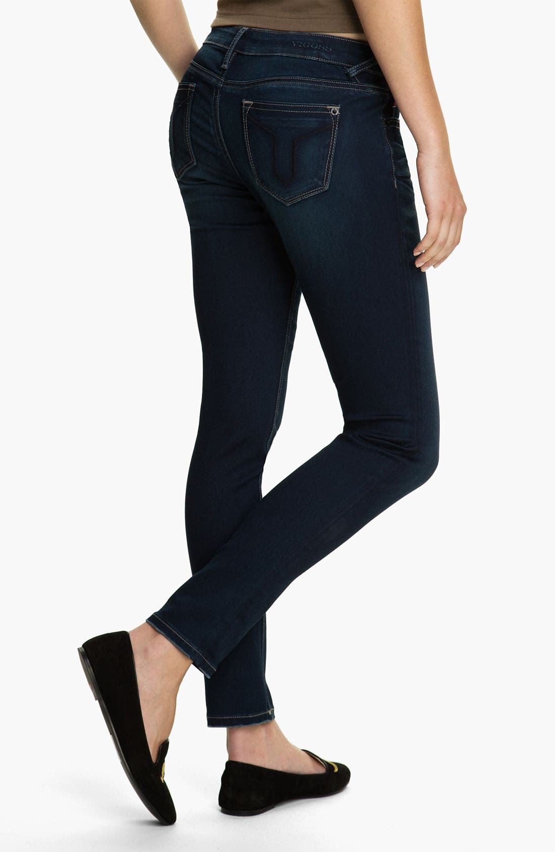 Main Image - Vigoss Skinny Stretch Skinny Jeans (Juniors)