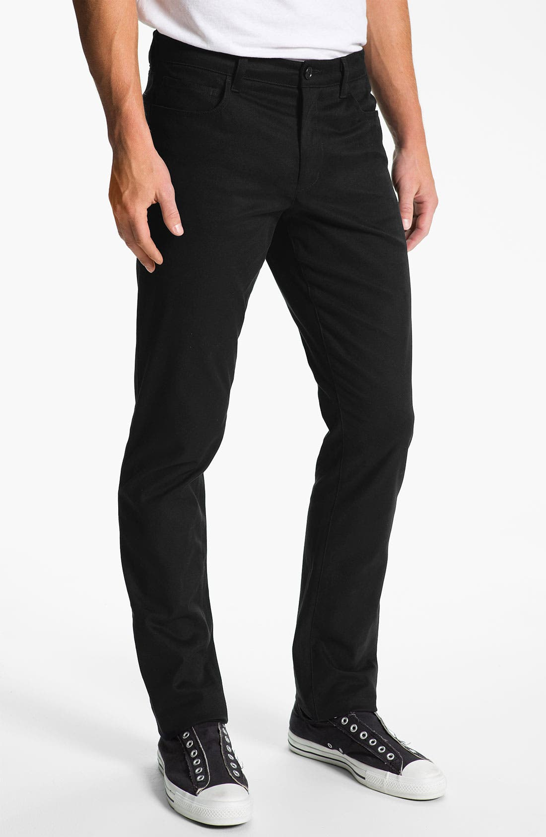 Main Image - Vince Slim Straight Leg Stretch Chinos
