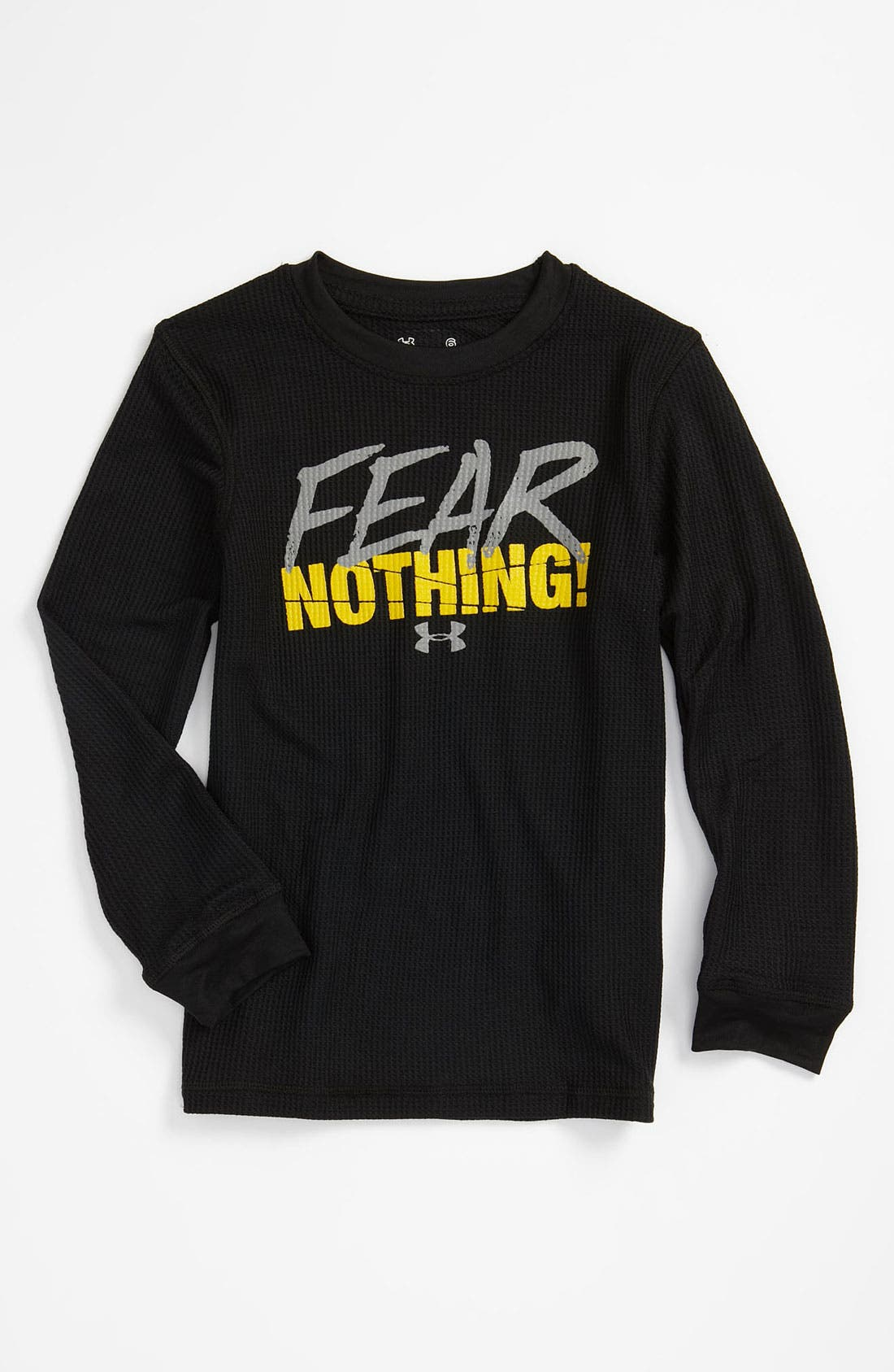 Alternate Image 1 Selected - Under Armour Thermal T-Shirt (Little Boys)
