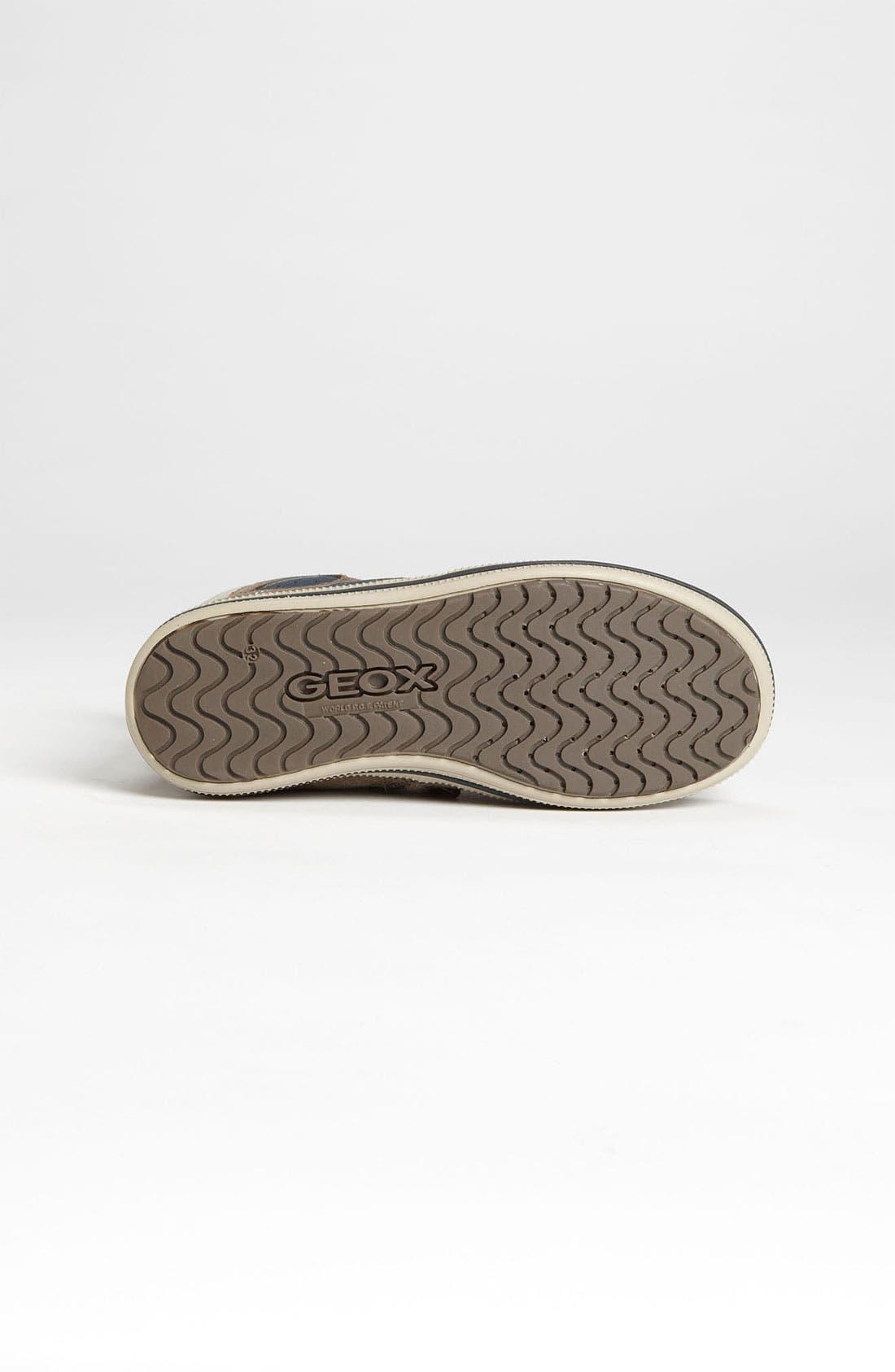 Alternate Image 4  - Geox High Top Sneaker (Toddler, Little Kid & Big Kid)