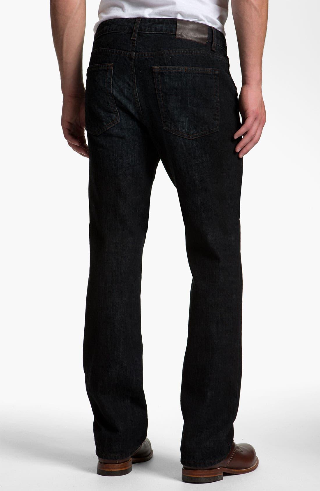 Main Image - PAIGE 'Doheny' Straight Leg Jeans (Alpha)