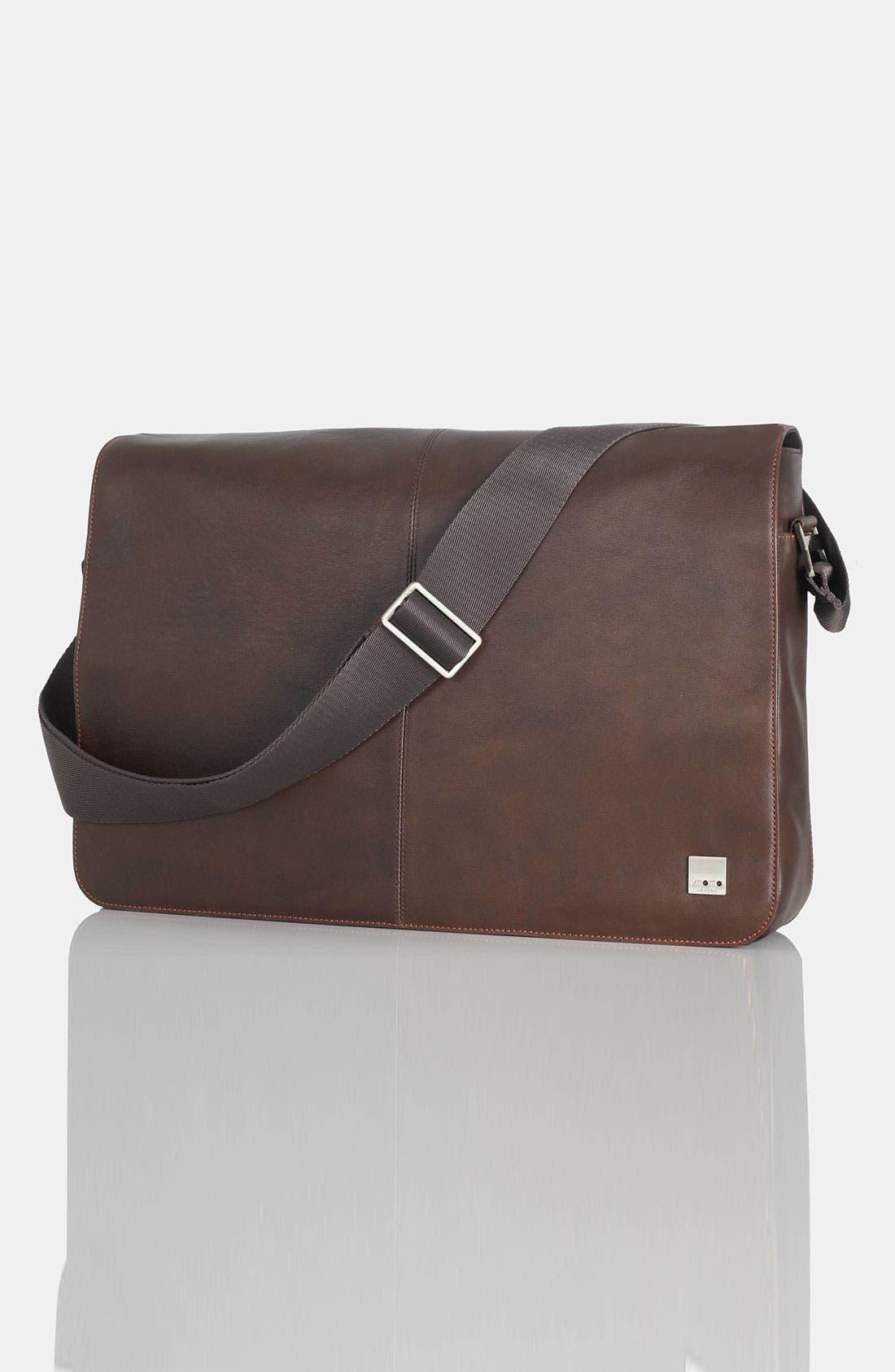 Main Image - KNOMO London 'Bungo' 17 Inch Messenger Bag
