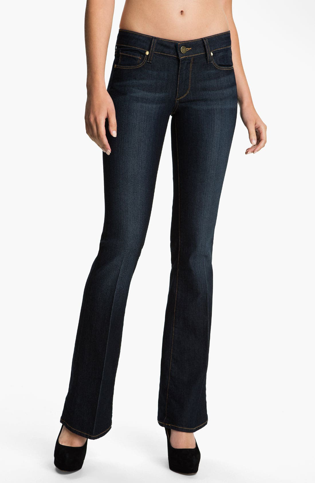 Alternate Image 1 Selected - Paige Denim 'Skyline' Bootcut Stretch Jeans (Carson)