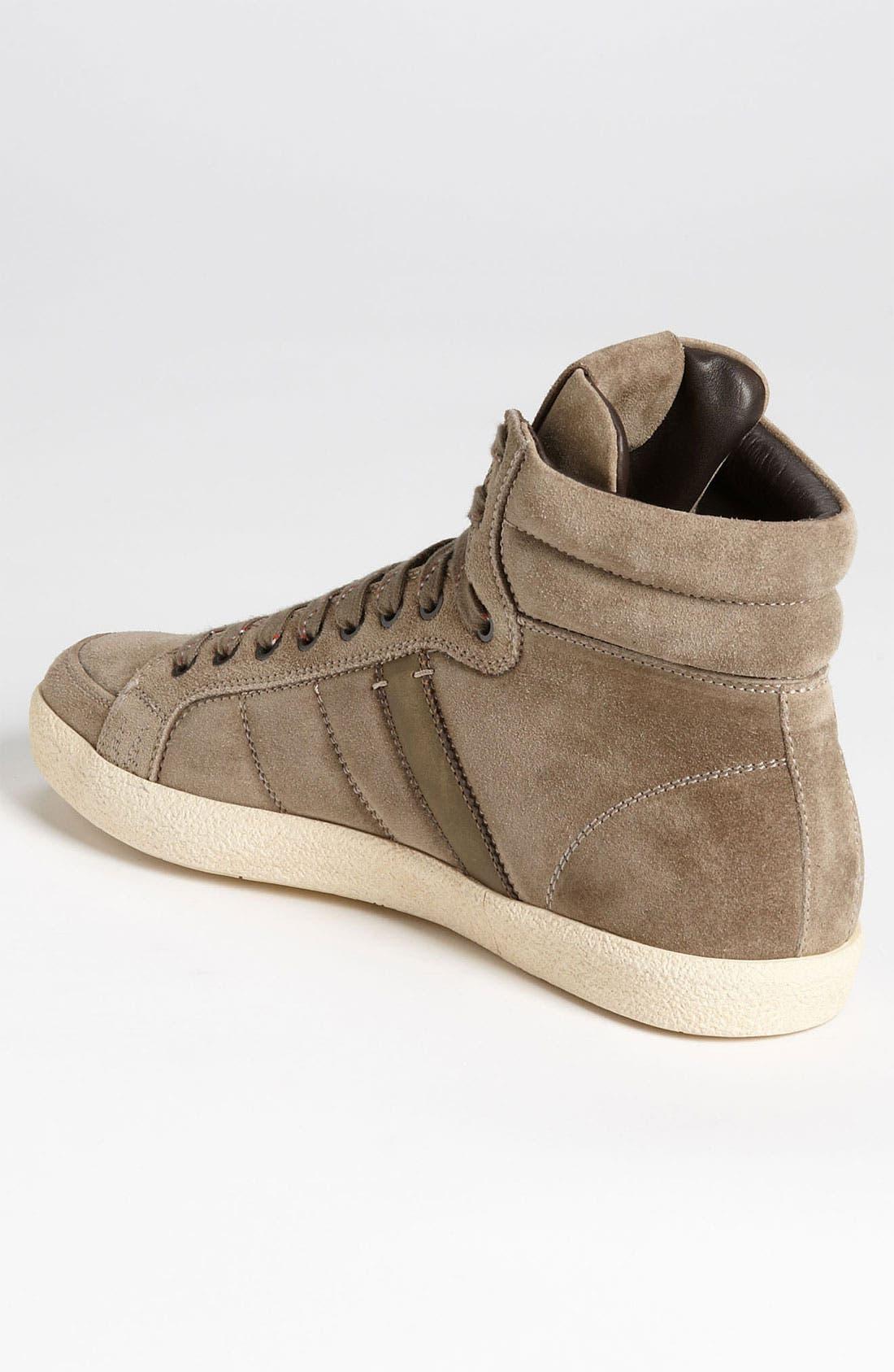 Alternate Image 2  - Moncler 'Lyon' Suede Sneaker (Men)
