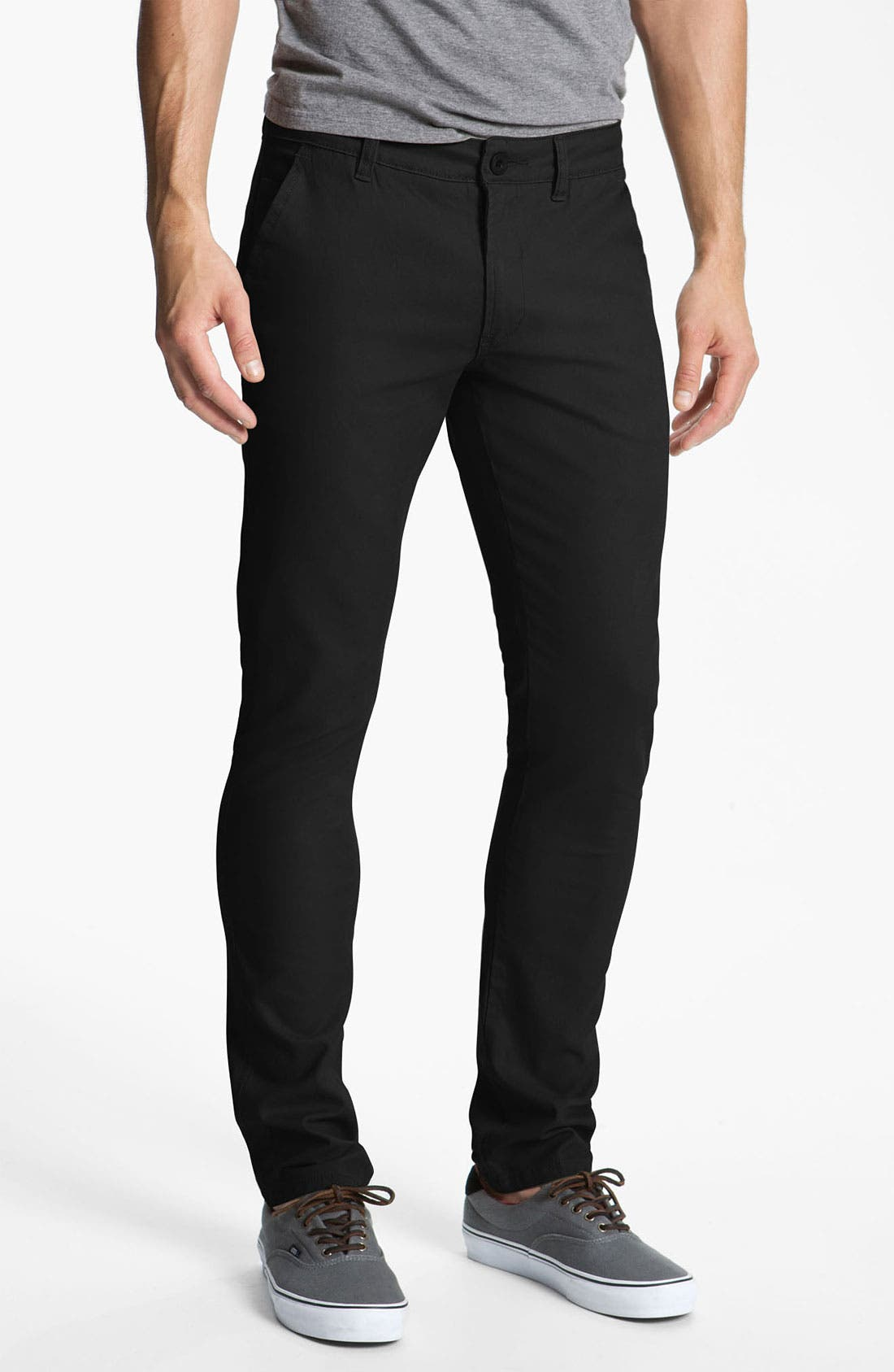Alternate Image 1 Selected - Ezekiel 'Weekend' Slim Straight Leg Twill Pants