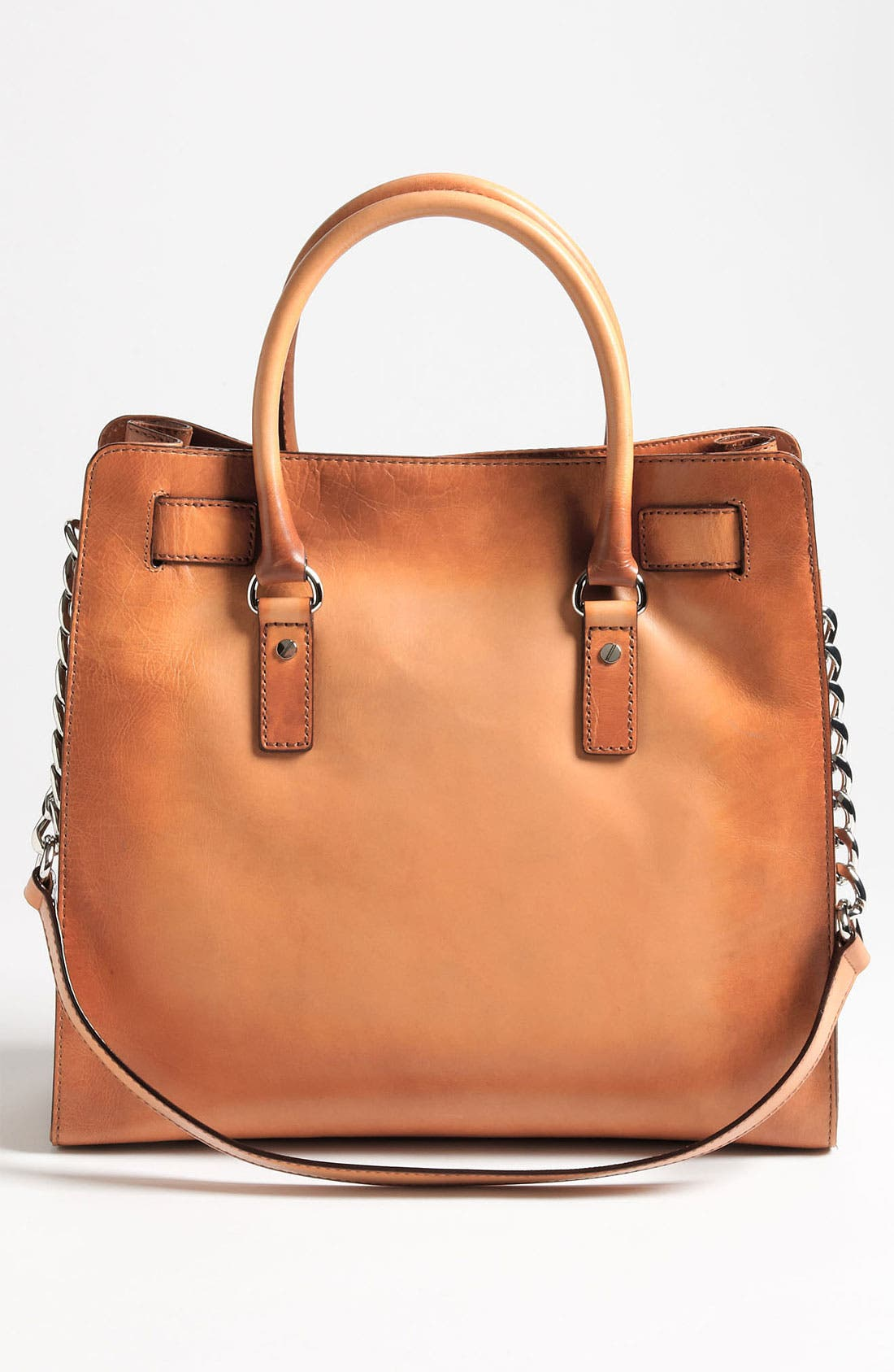 Alternate Image 4  - MICHAEL Michael Kors 'Hamilton Artisan - Large' Leather Tote