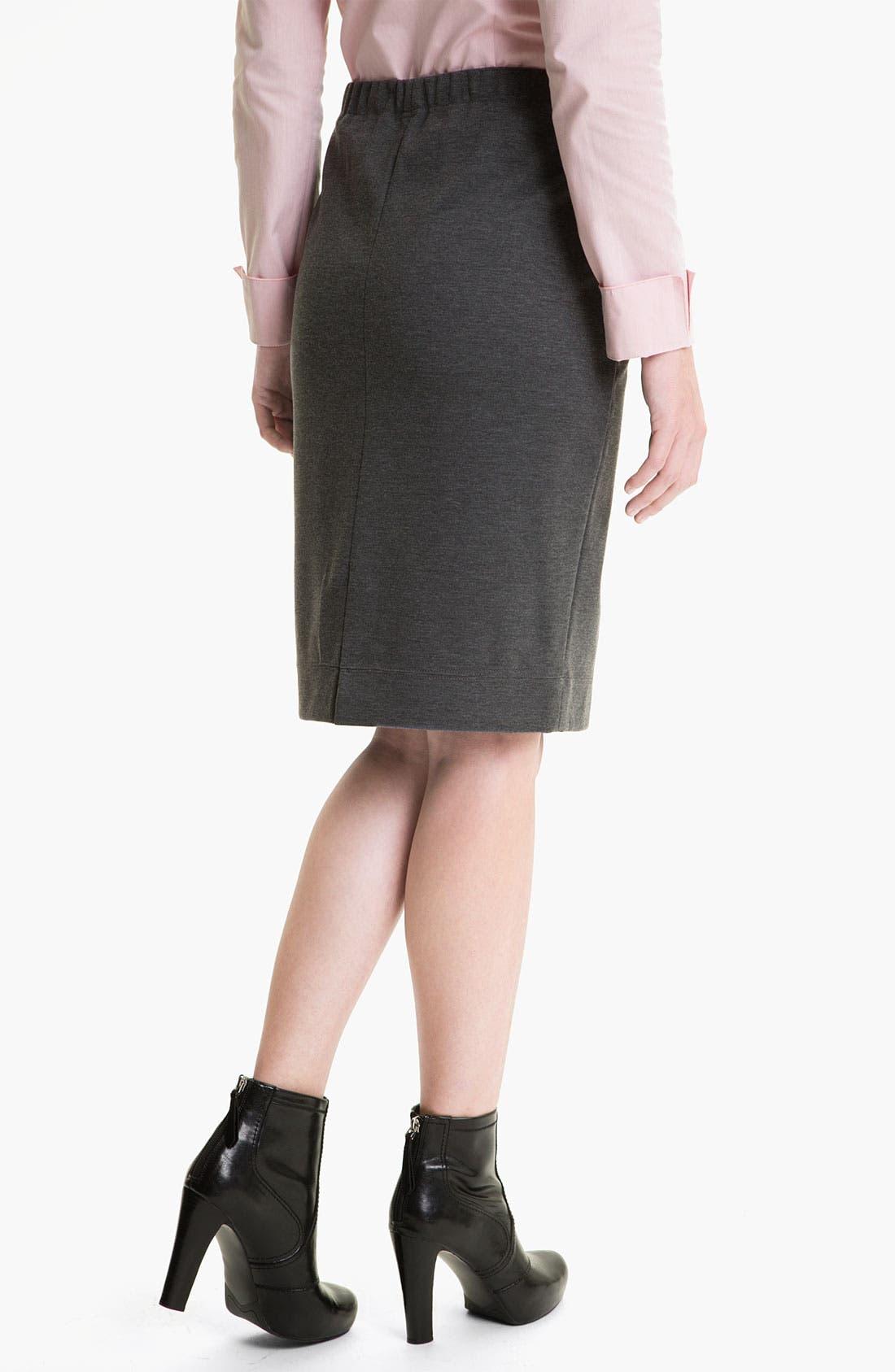 Alternate Image 2  - Lafayette 148 New York Heather Ponte Skirt