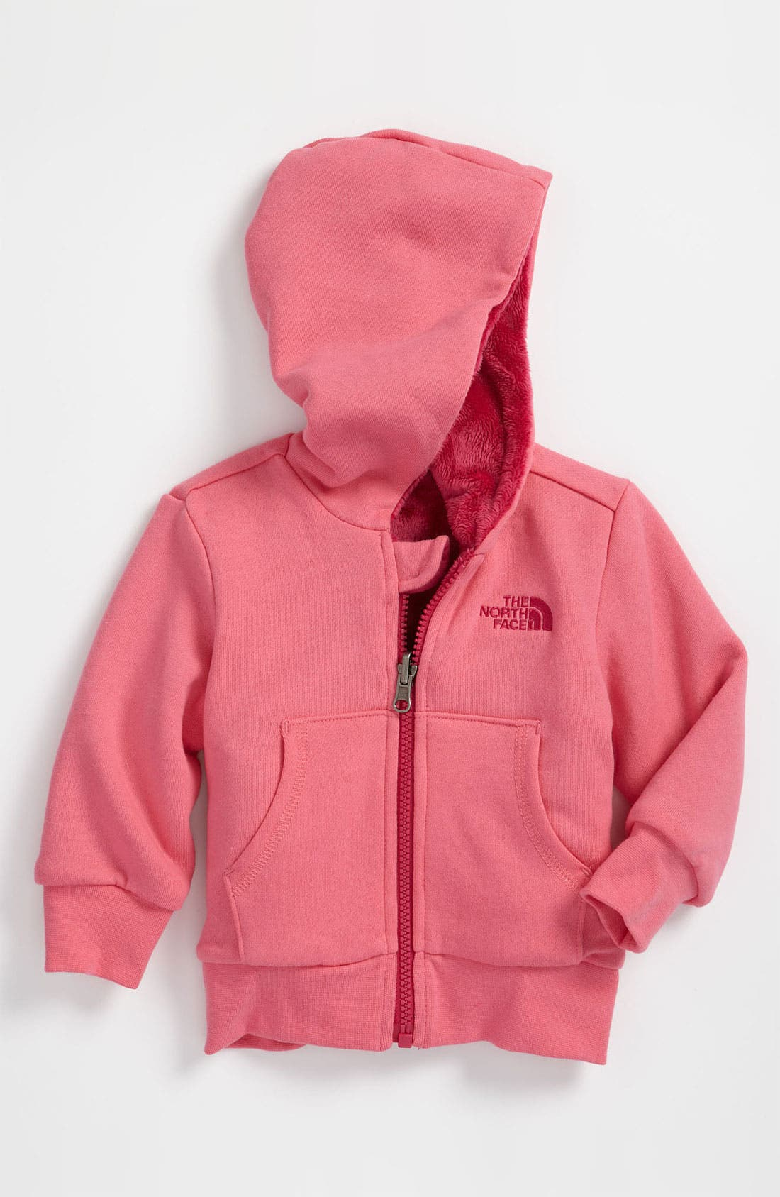 Main Image - The North Face 'Elloise' Reversible Hoodie (Infant)