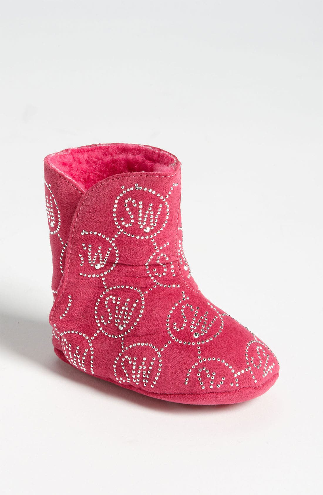 Alternate Image 1 Selected - Stuart Weitzman 'Baby Flirt' Crib Bootie (Baby)