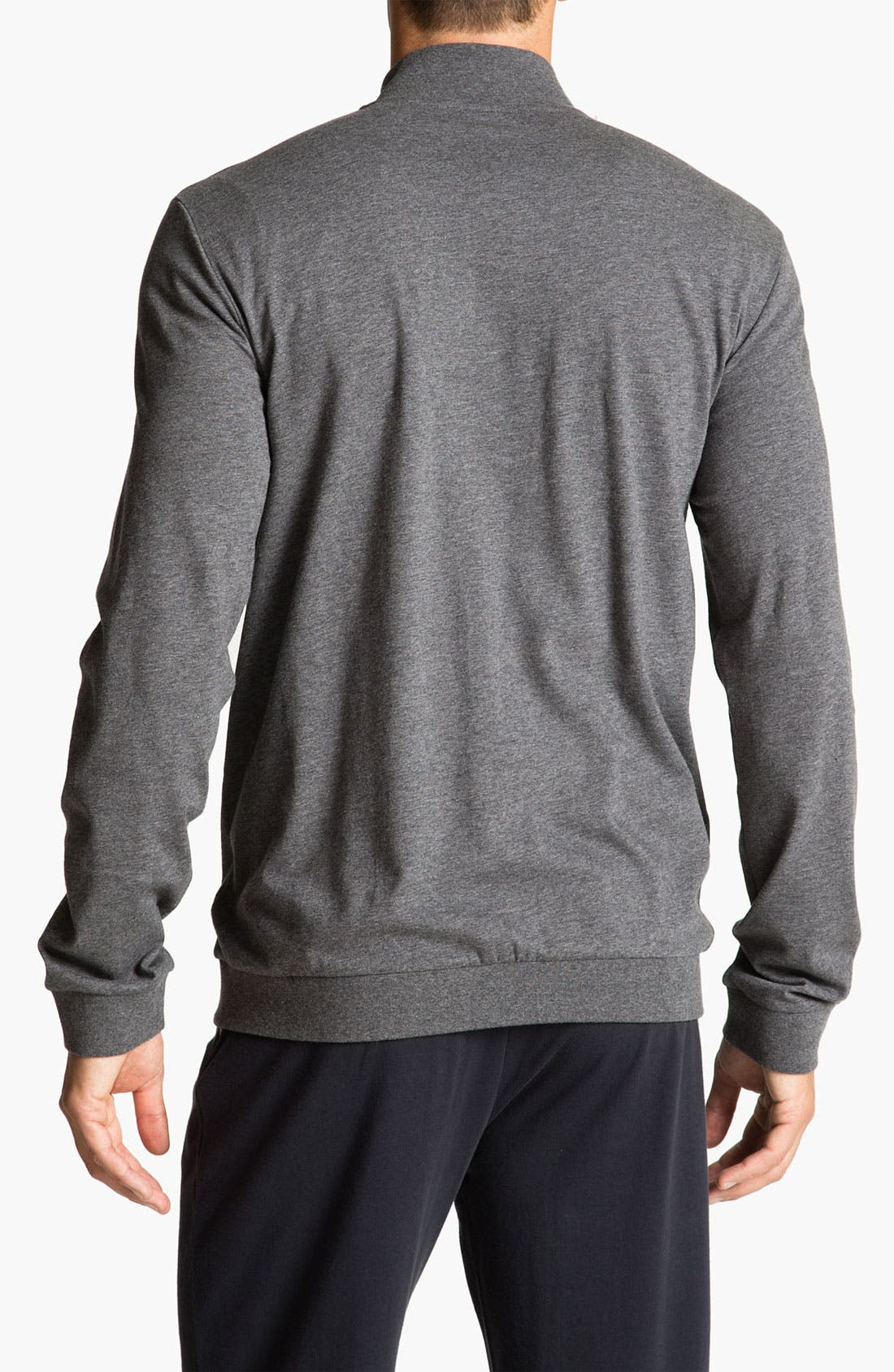 Alternate Image 2  - BOSS Black Cotton Track Jacket (Online Only)