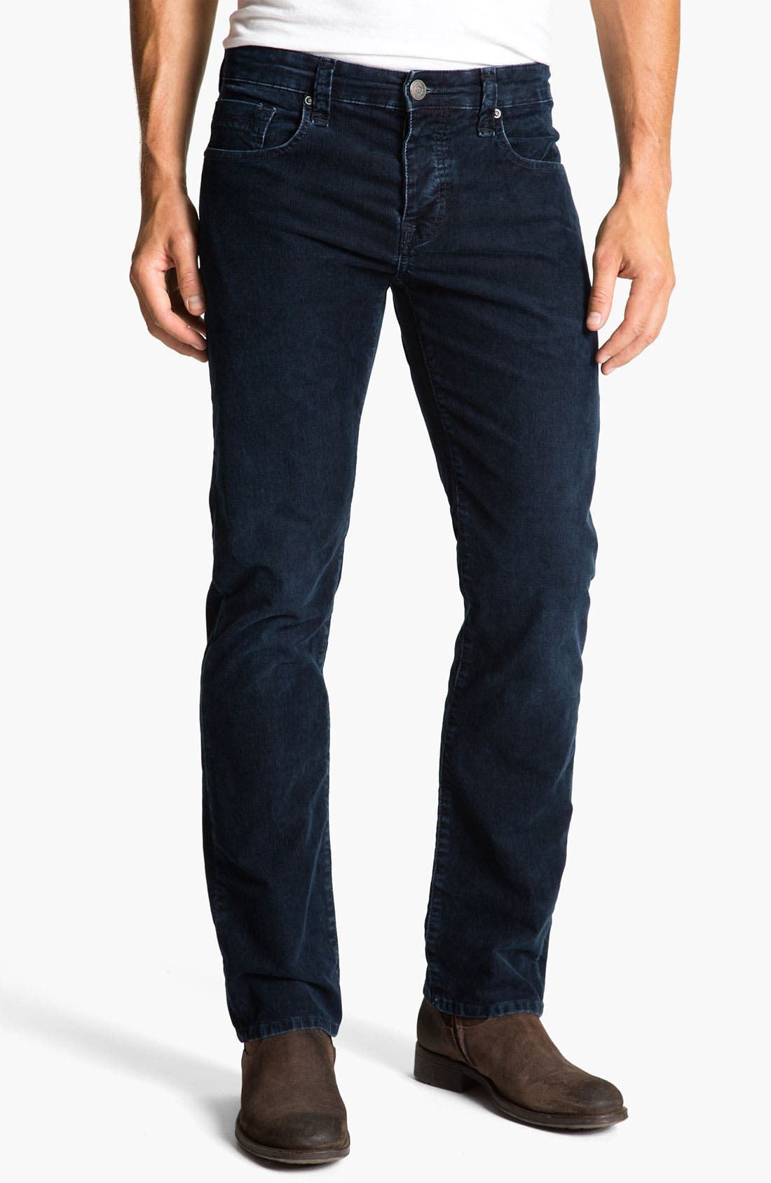 Alternate Image 2  - Mavi Jeans 'Zach' Low Rise Straight Leg Corduroy Pants