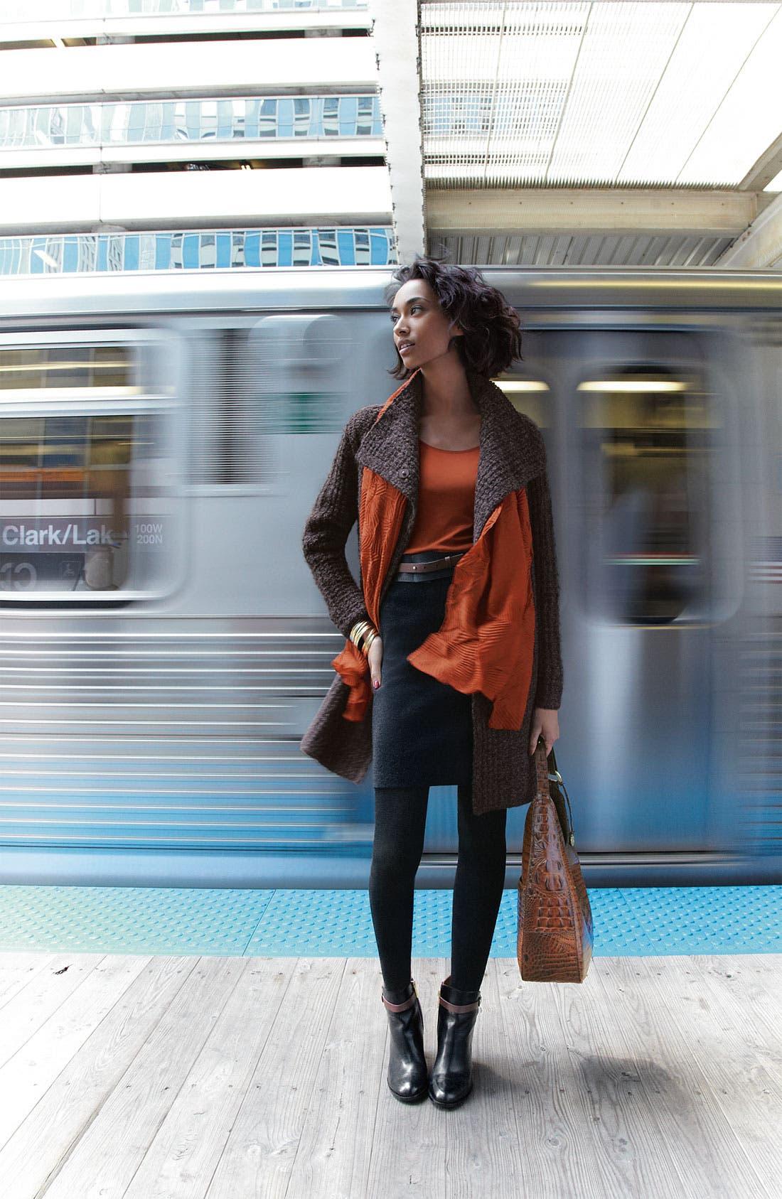 Alternate Image 5  - Eileen Fisher Pull-On Wool Blend Skirt
