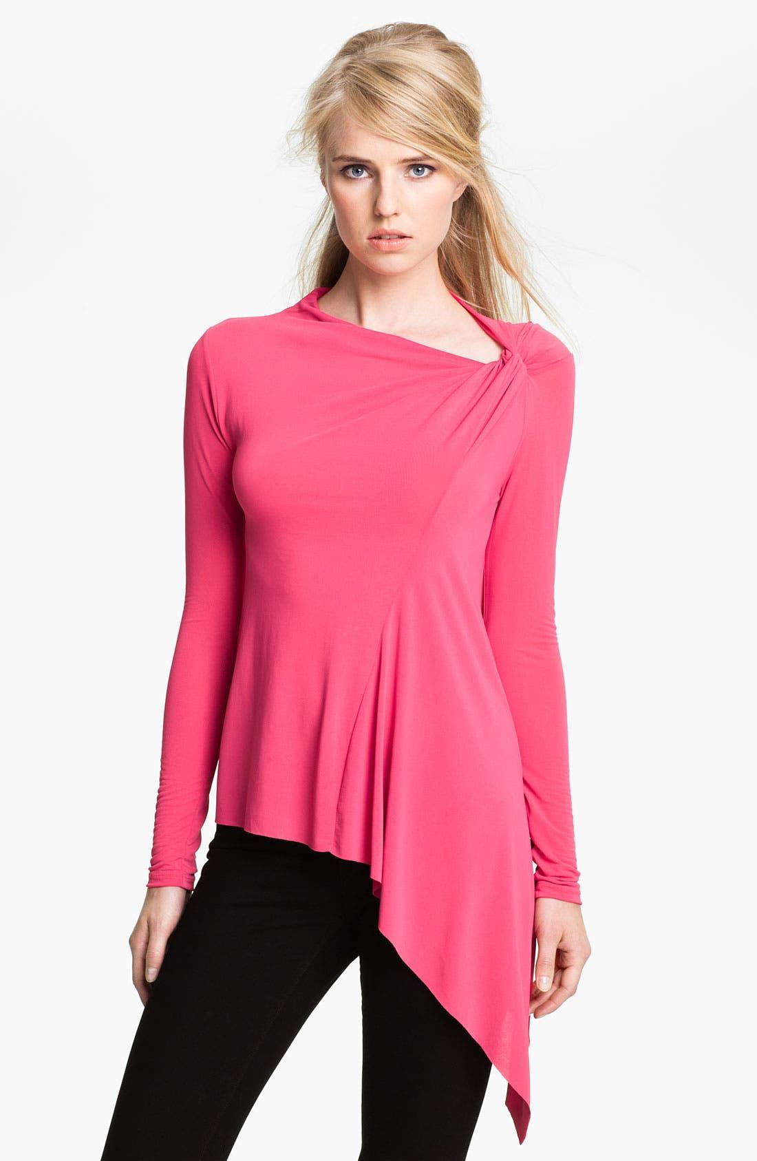 Alternate Image 1 Selected - Twenty8Twelve 'Bailey' Crepe Jersey Top
