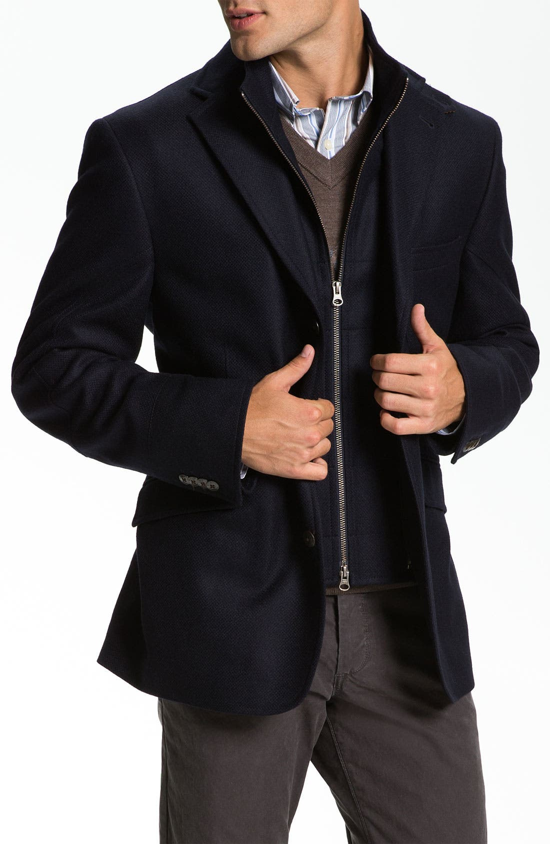 Alternate Image 1 Selected - Kroon 'Ritchie' Wool & Cashmere Blazer Style Coat