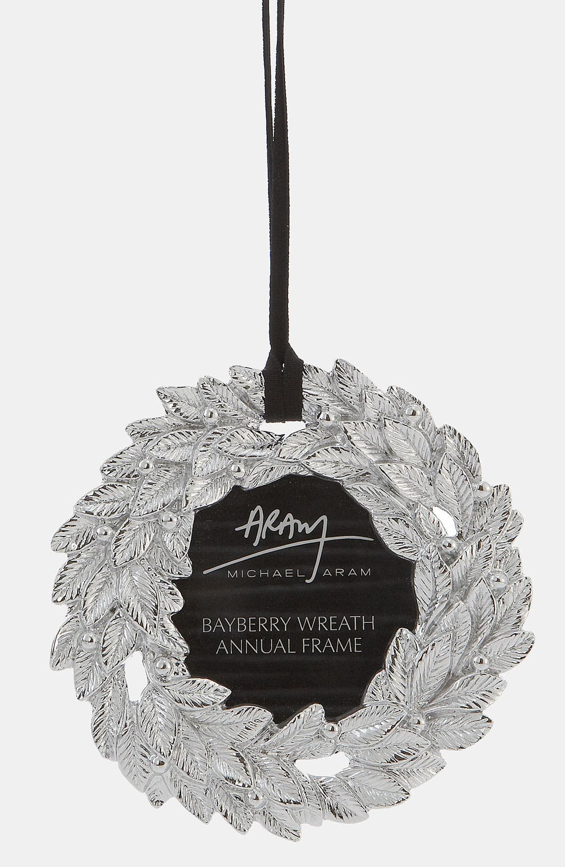 Main Image - Michael Aram 'Bayberry Wreath' Annual Frame Ornament