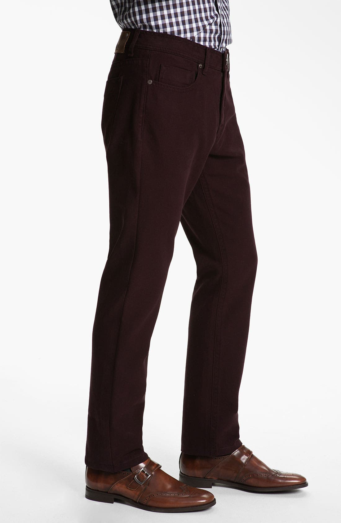 Alternate Image 3  - DL1961 'Vince' Straight Leg Jeans (Redwood) (Online Only)
