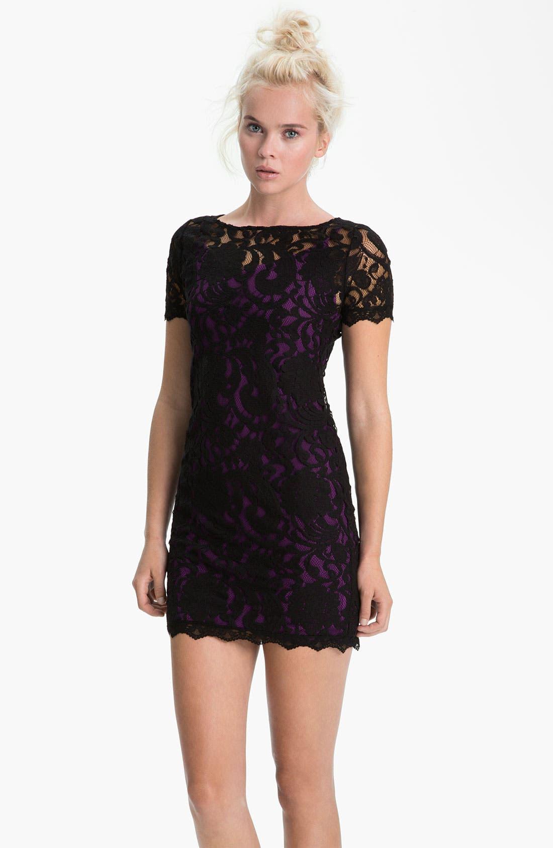 Alternate Image 1 Selected - Sanctuary 'Good Fortune' Lace Dress