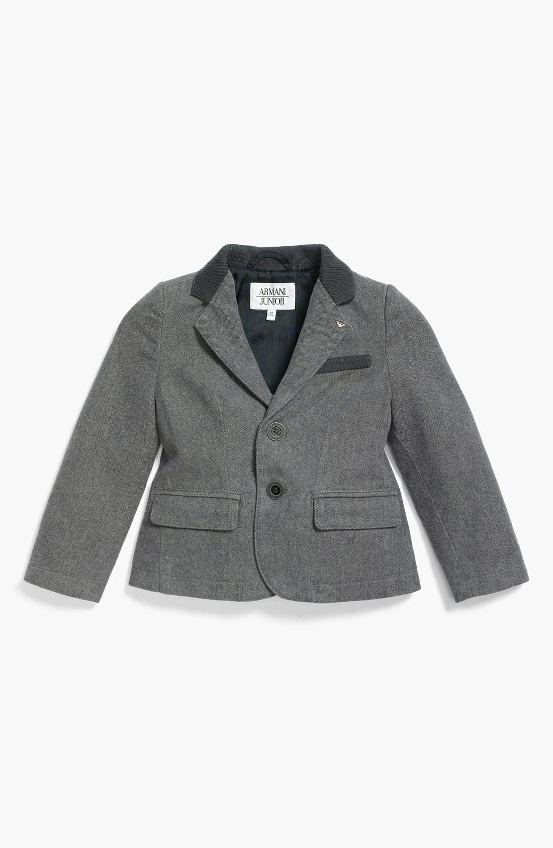 Main Image - Armani Junior Two Button Sportcoat (Little Boys)