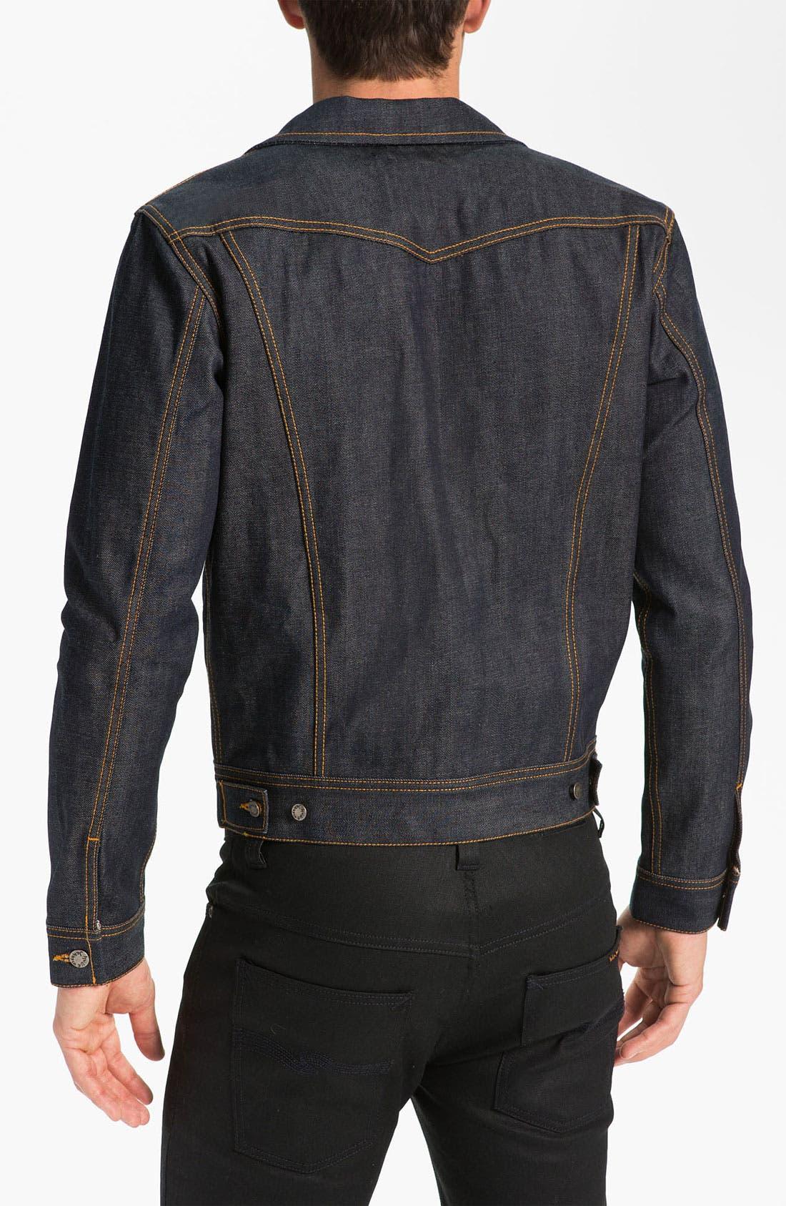 Alternate Image 2  - Nudie Jeans Organic Dry Denim Jacket