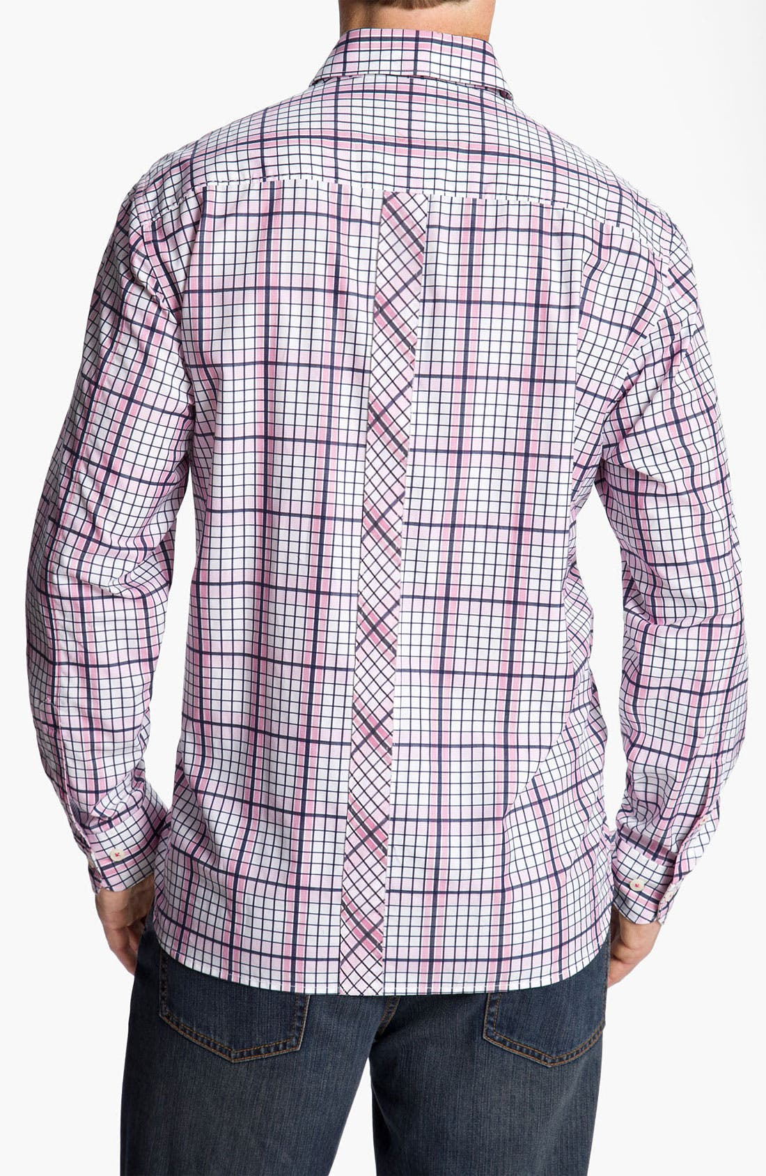 Alternate Image 2  - Tommy Bahama 'Terrace Check' Sport Shirt