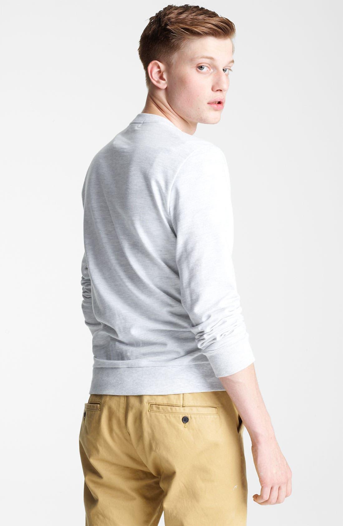 Alternate Image 2  - Topman 'Balearic' Graphic Sweatshirt