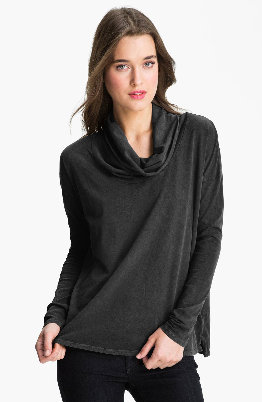 Alternate Image 1 Selected - James Perse Funnel Neck Top