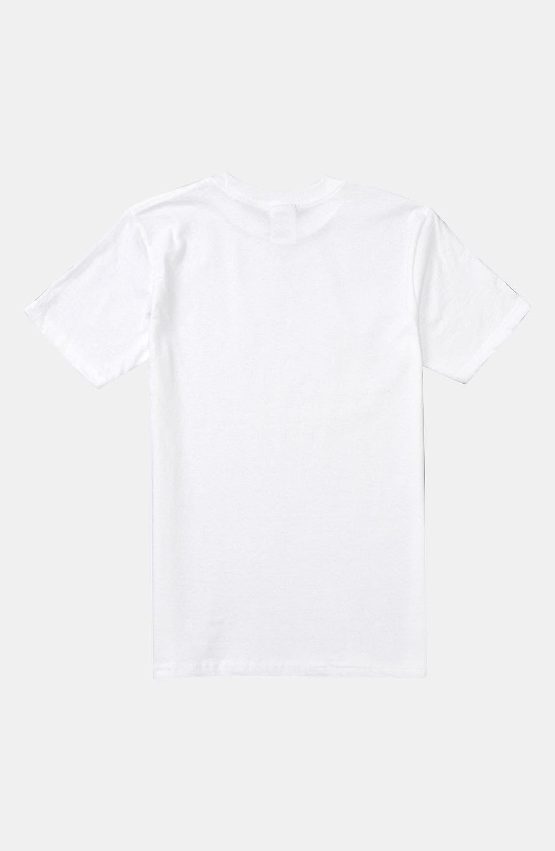 Alternate Image 2  - Quiksilver 'Big Night Out' Screenprint T-Shirt (Big Boys)