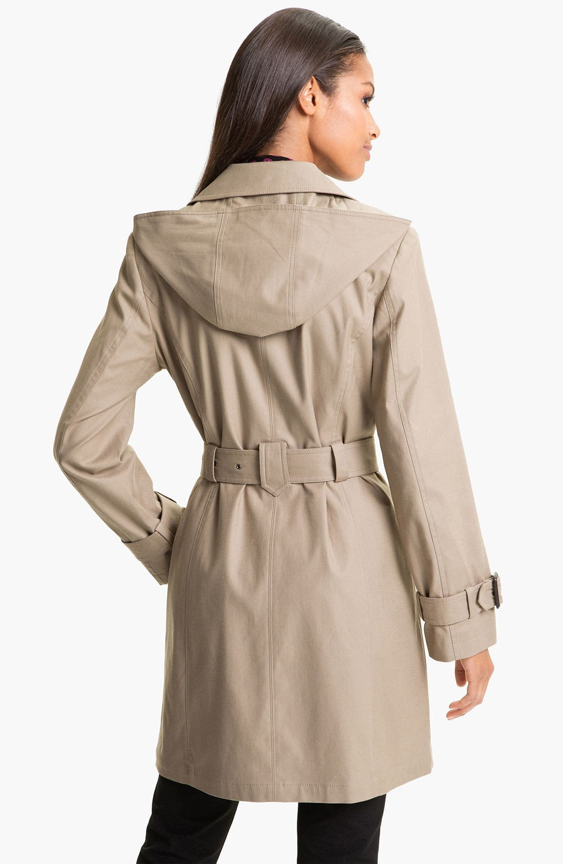 Alternate Image 2  - Gallery Single Breasted Trench Coat