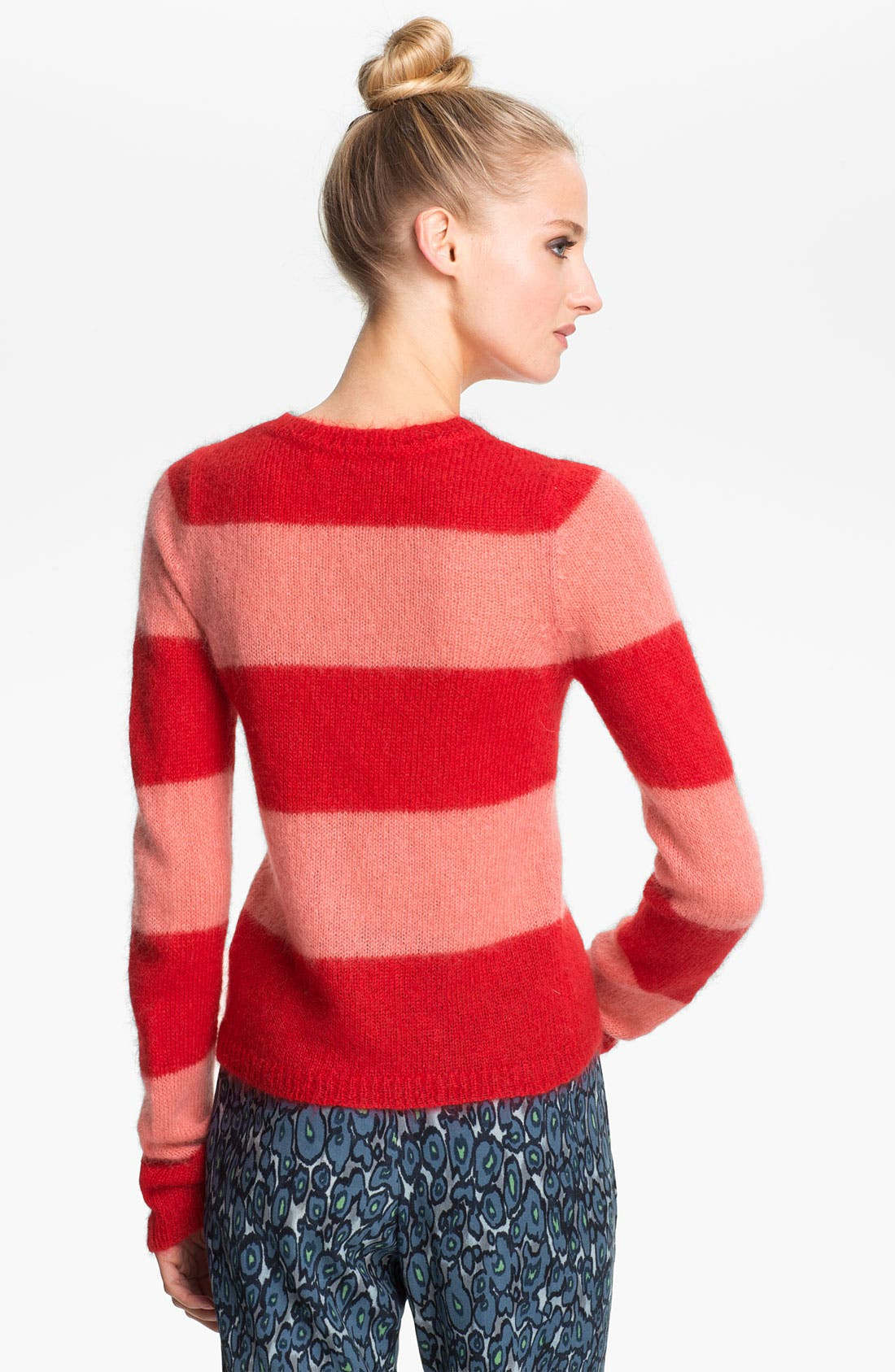 Alternate Image 2  - MSGM Stripe Crop Sweater