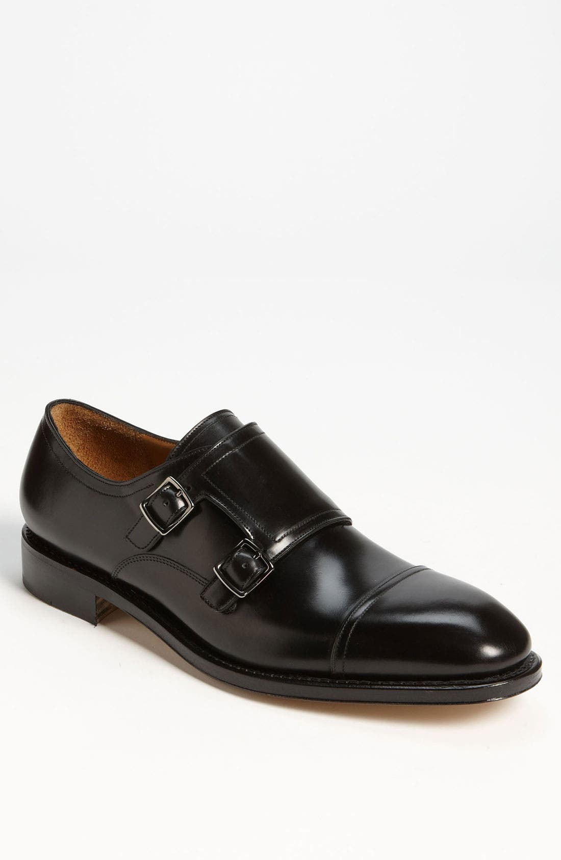 Main Image - Salvatore Ferragamo 'Duran' Double Monk Strap Slip-On