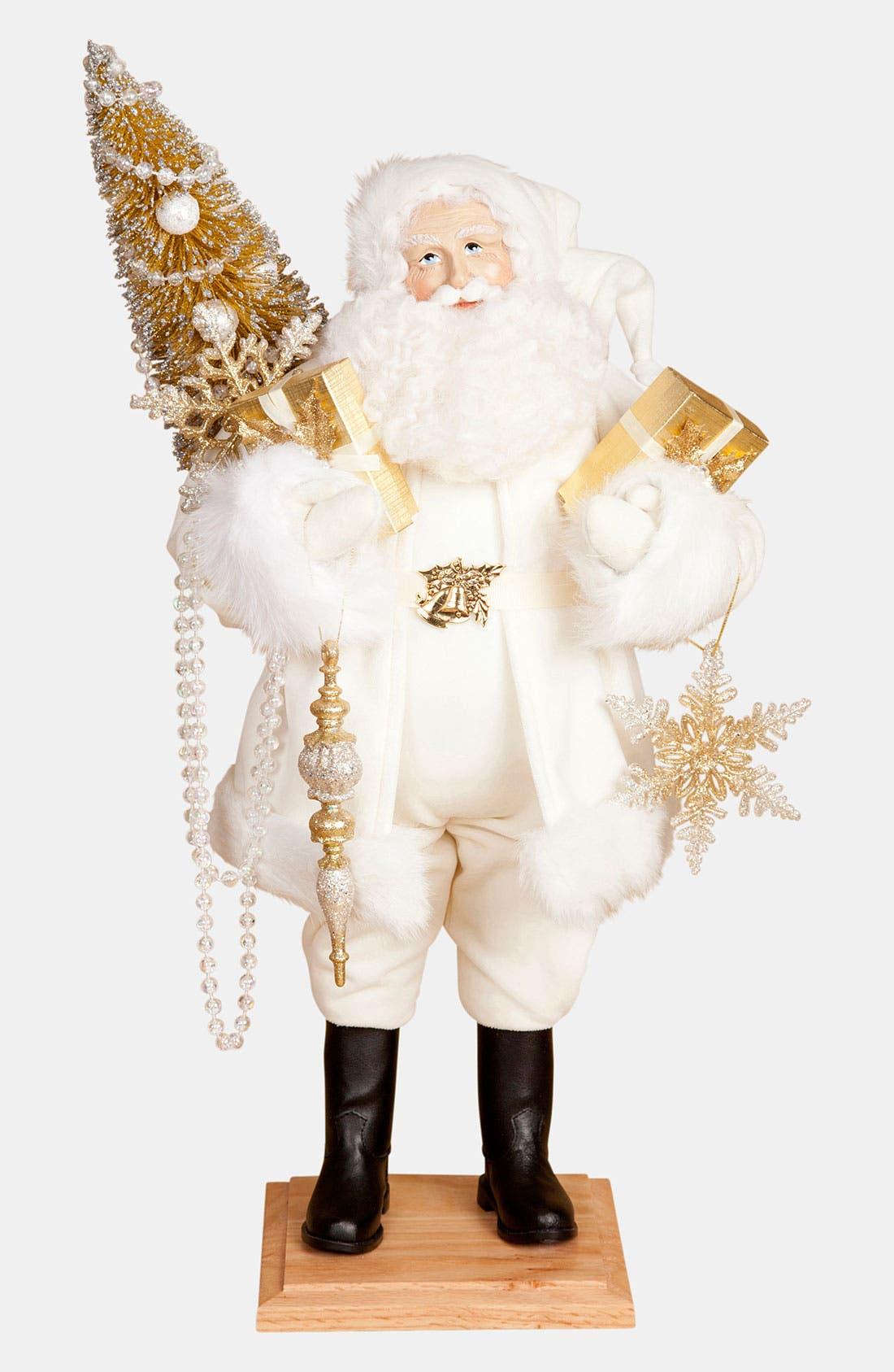 Alternate Image 1 Selected - Lynn Haney 'Winter's Touch' Santa Figurine