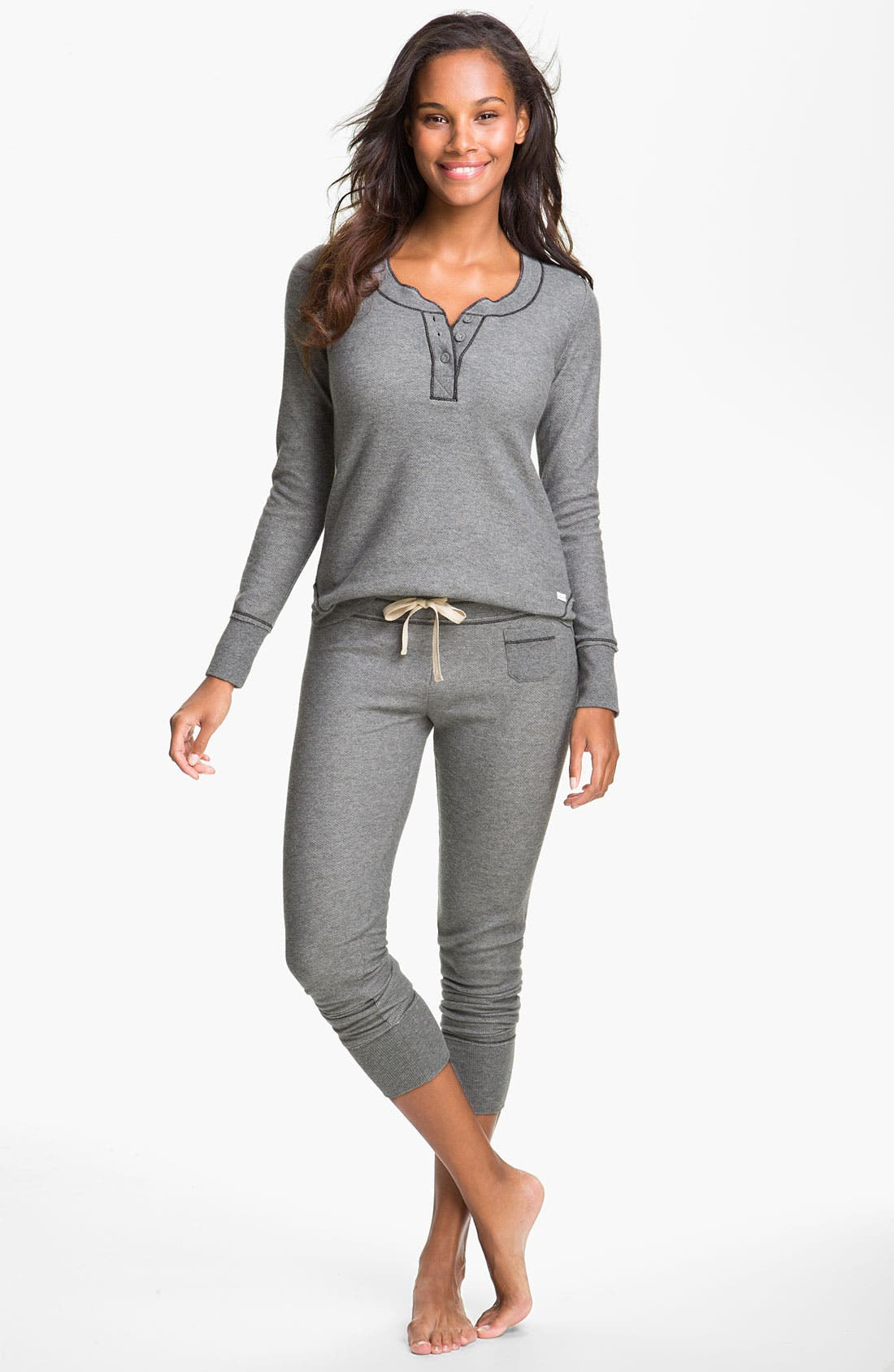 Main Image - Kensie 'Quite the Character' Thermal Pajamas