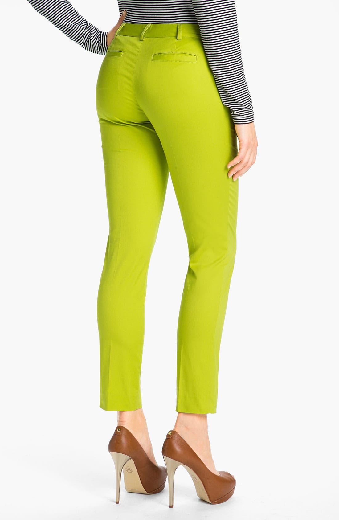 Alternate Image 2  - MICHAEL Michael Kors Zip Pocket Ankle Pants