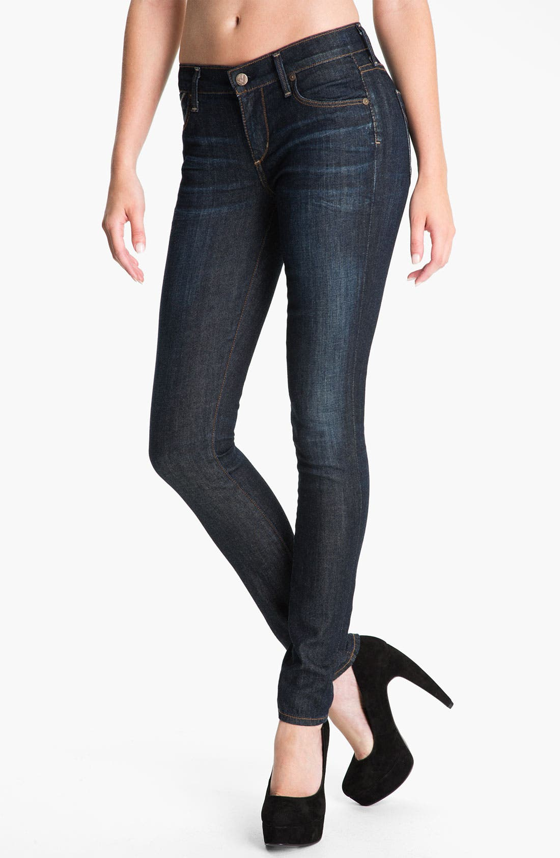 Alternate Image 1 Selected - Citizens of Humanity Skinny Stretch Jeans (Glory)