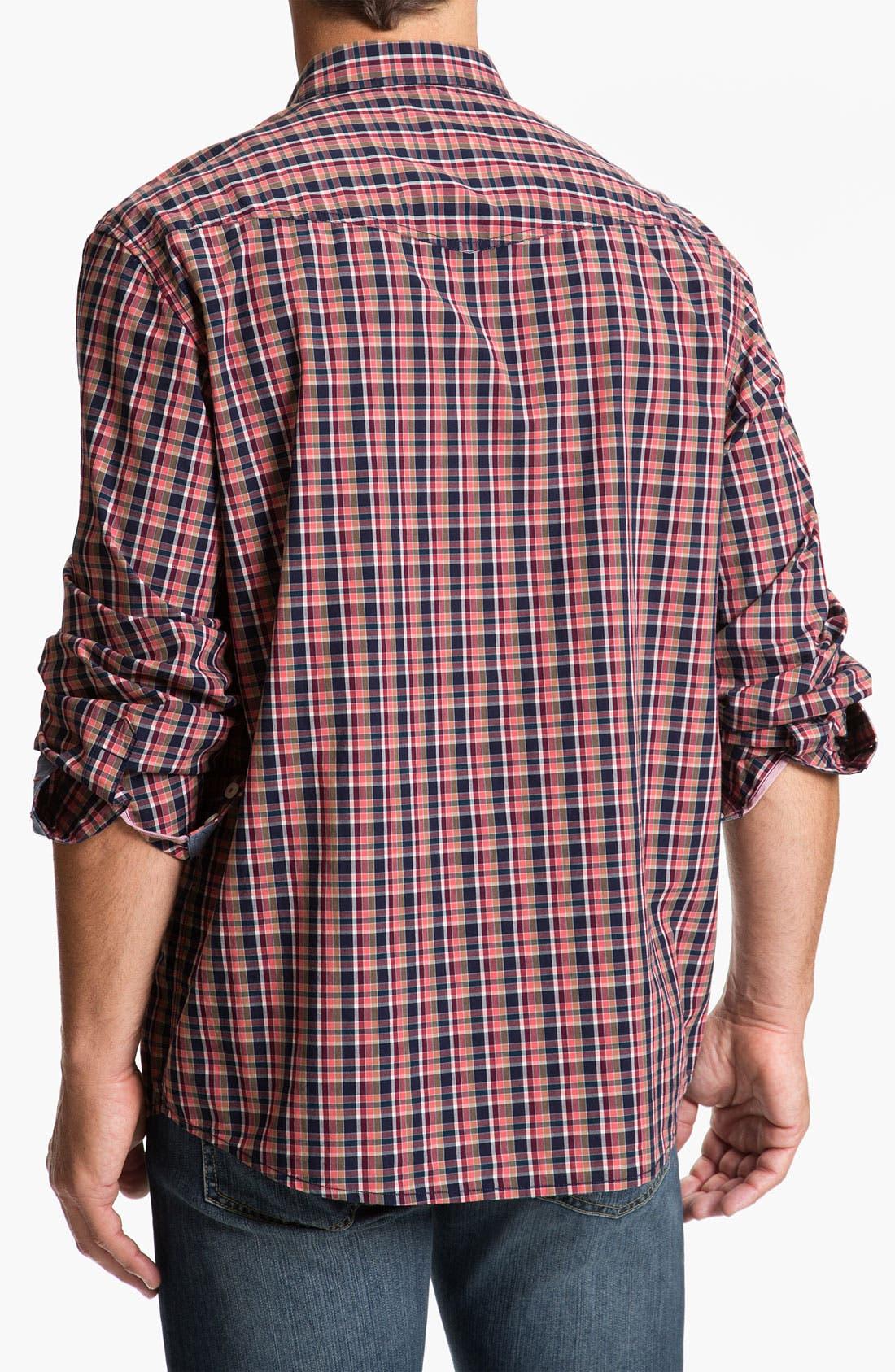 Alternate Image 2  - Tommy Bahama Denim 'Bao Down Plaid' Sport Shirt