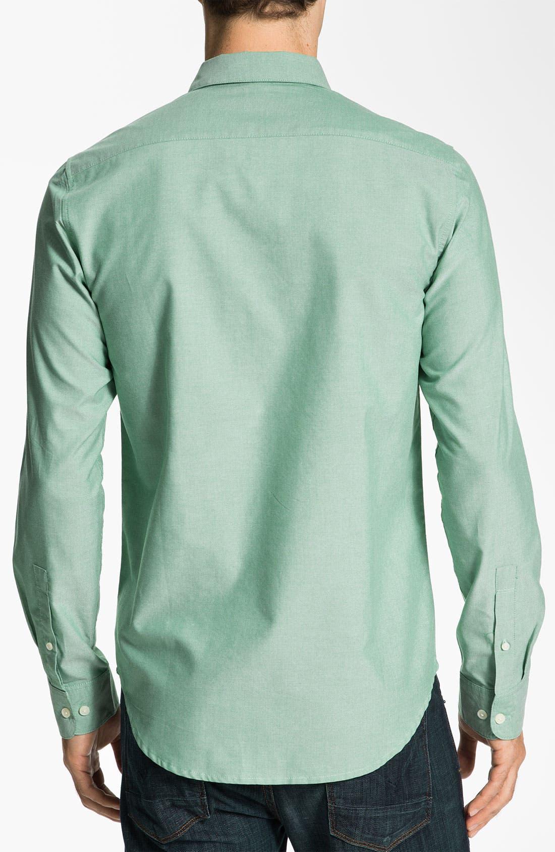Alternate Image 2  - RVCA 'That'll Do' Oxford Shirt