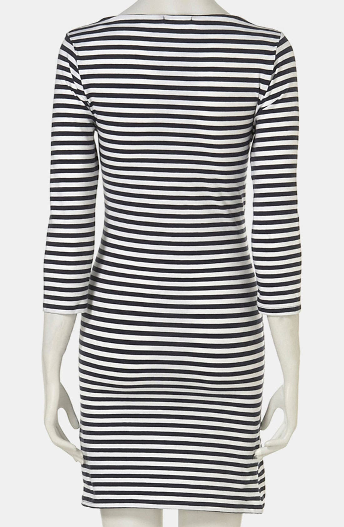 Alternate Image 2  - Topshop Stripe Maternity Dress