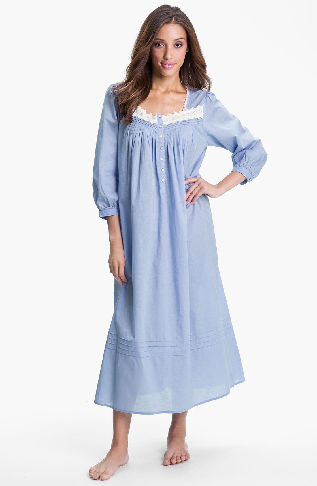 Alternate Image 1 Selected - Eileen West 'Cascade' Nightgown