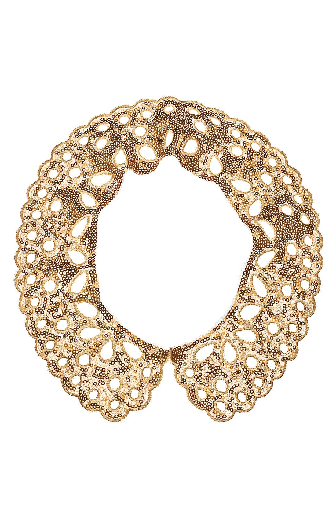 Alternate Image 3  - Cara 'Lacy Lady' Collar Necklace
