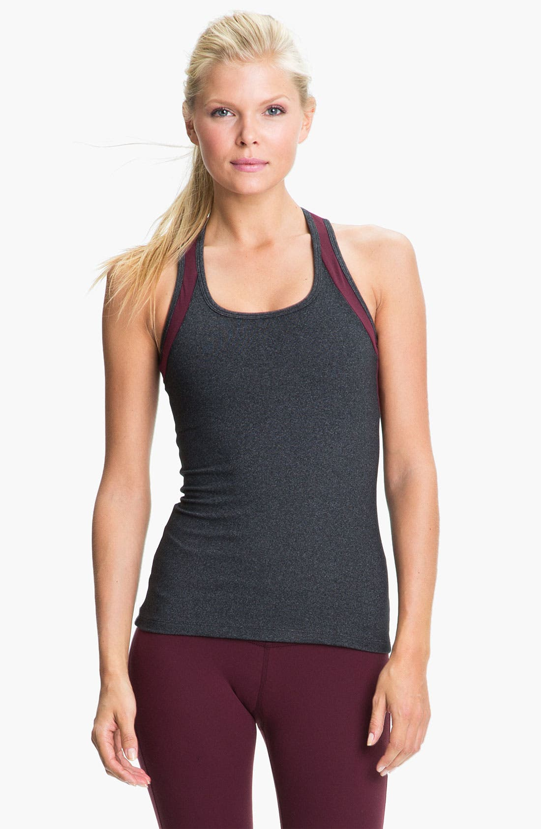 Alternate Image 1 Selected - Beyond Yoga Colorblock Racerback Tank