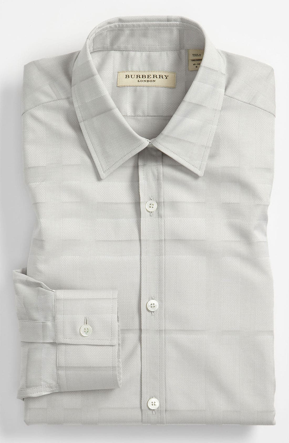 Alternate Image 1 Selected - Burberry London Modern Fit Dress Shirt